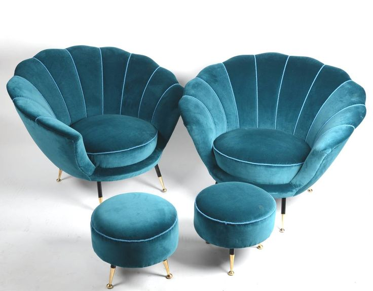 velvet chairs-stools
